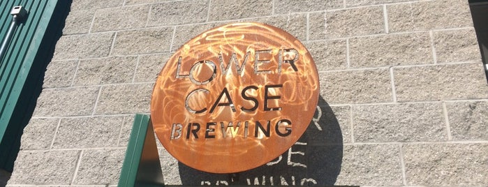 Lowercase Brewing is one of Locais curtidos por Rachel.
