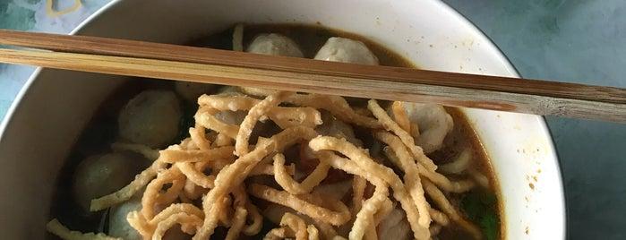 โชคดีข้าวซอย ก๋วยเตี๋ยวน้ำเงี้ยว เจ้าเก่า is one of เชียงใหม่_5_noodle.