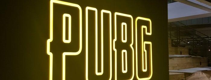 PUBG is one of Dan 님이 좋아한 장소.