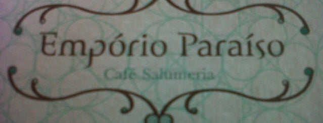 Emporio Paraíso - Cafe Salumeria is one of Quero ir!.