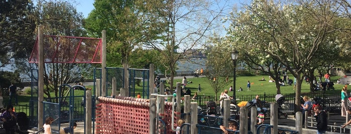 River Terrace playground is one of 🗽NYC Kids.