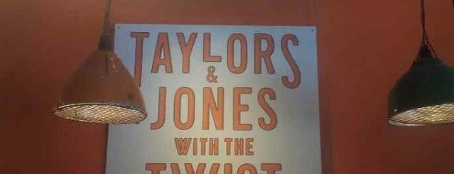 Taylors & Jones with the Twist is one of STHLM Food.