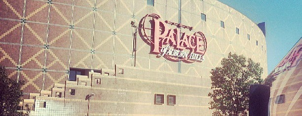 The Palace of Auburn Hills is one of NBA Stadiums.