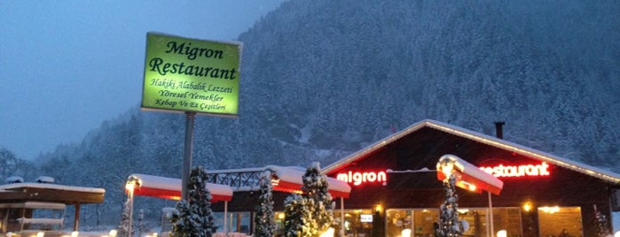 Migron Restaurant is one of Orte, die Sinan gefallen.