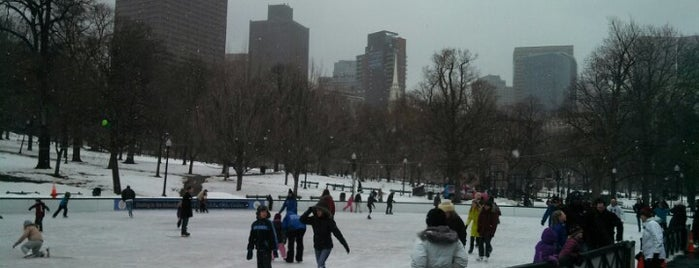 Frog Pond is one of Boston.