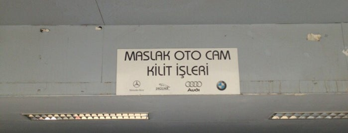 Maslak Oto Cam Kilit Sunroof is one of Orte, die 🇹🇷B@yr@M🇹🇷 gefallen.