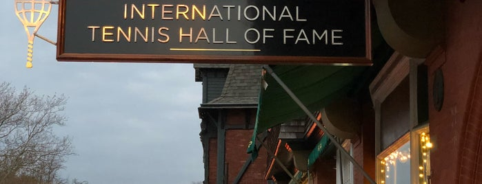International Tennis Hall of Fame is one of Newport Best Spots.