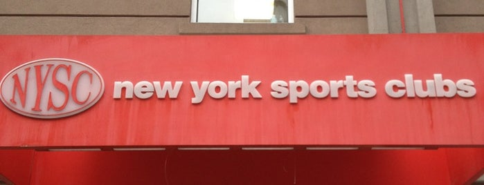 New York Sports Clubs is one of Tempat yang Disukai Revital.