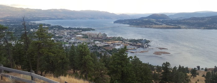 Knox Mountain Park is one of Tempat yang Disukai Miguel.