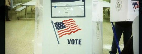 Voting at J.H.S. 050 John D. Wells is one of Tempat yang Disukai Miguel.