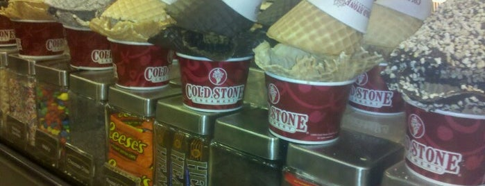 Cold Stone Creamery is one of Greenville.