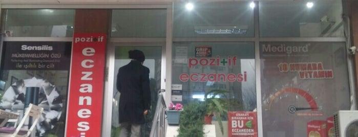 Pozitif eczanesi is one of สถานที่ที่ Adilos ถูกใจ.