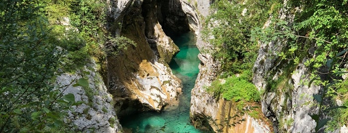 Great Soca Gorge is one of Bled and Soca Valley.