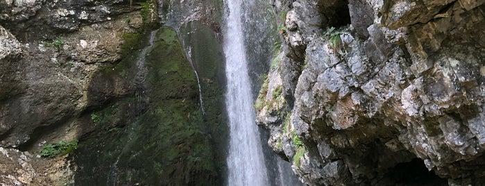 Slap Mostnica is one of Bled, Bohinj & Velence.