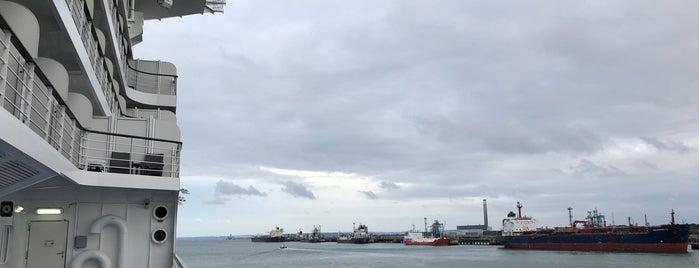 Southampton Water is one of Southampton.