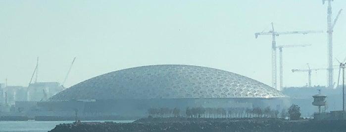 Louvre Abu Dhabi is one of Lugares guardados de Waad.