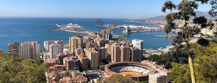 Monte de Gibralfaro is one of Málaga.