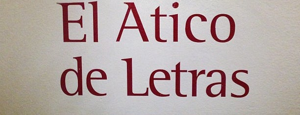 El Atico de las Letras is one of 🇪🇸 MAD city.
