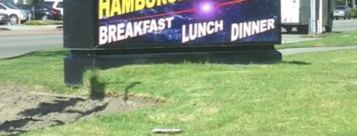 Galaxy Hamburgers is one of สถานที่ที่บันทึกไว้ของ Rj.