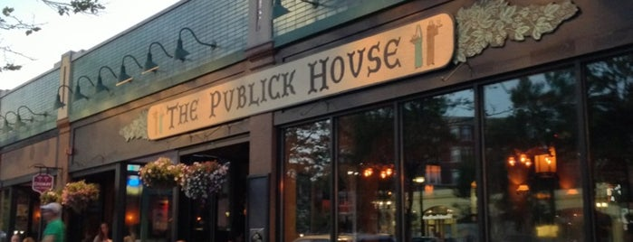 The Publick House is one of America's 100 Best Beer Bars - Draft Magazine 2014.
