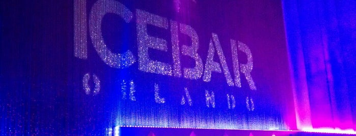 ICEBAR Orlando is one of ENTERTAINMENT.