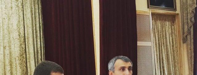 Министерство по Делам Молодежи Чеченской Республики is one of Залина 님이 저장한 장소.