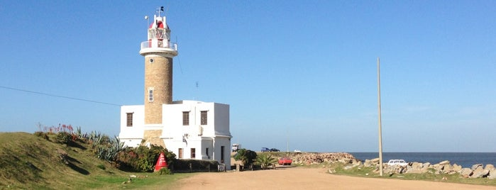 Faro de Punta Carretas is one of Montevideu.