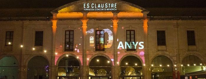 Es Claustre is one of Lieux qui ont plu à Nac.