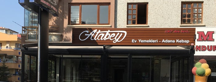Atabey Kebap is one of Posti salvati di Fatih.