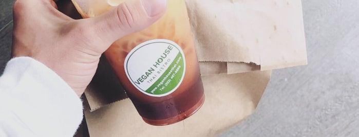 vegan house thai bistro is one of Crystal : понравившиеся места.