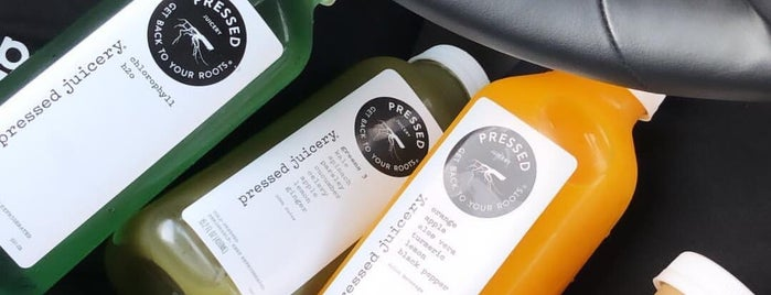 Pressed Juicery is one of NY.