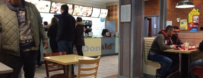 McDonald's is one of Genuss.