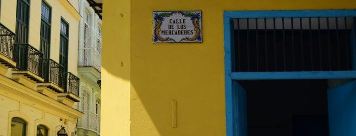 Calle de los Mercaderes is one of Cuba.