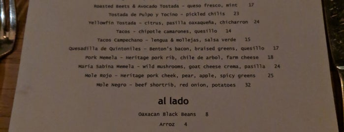 Claro is one of Favorite NYC restaurants.