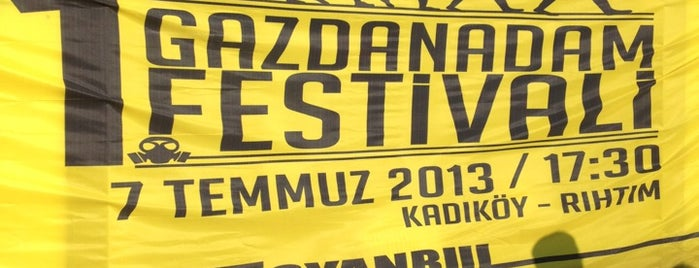 1. İsyanbul Gazdan Adam Festivali is one of Esrin 님이 좋아한 장소.