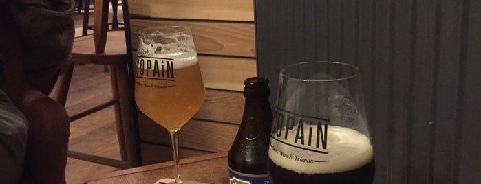 Copain is one of Bars.
