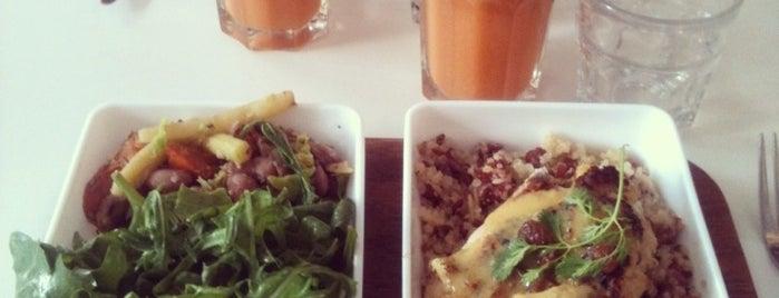 Nanashi is one of Healthy & Veggie Food in Paris.