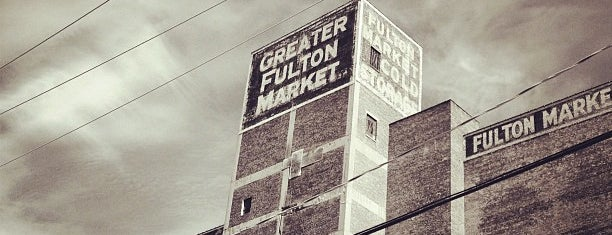 Fulton Market is one of Chicago.