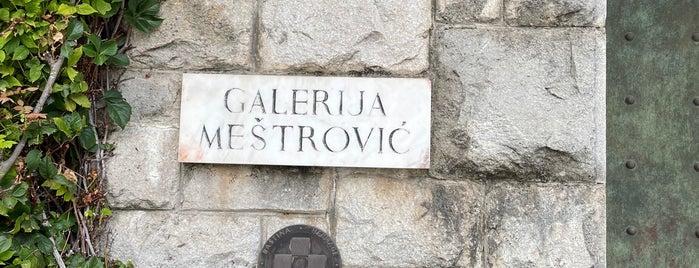 Galerija Meštrović is one of Split, Croatia.