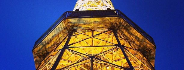 Petřínská rozhledna | Petřín Lookout Tower is one of Check this Paja's list.