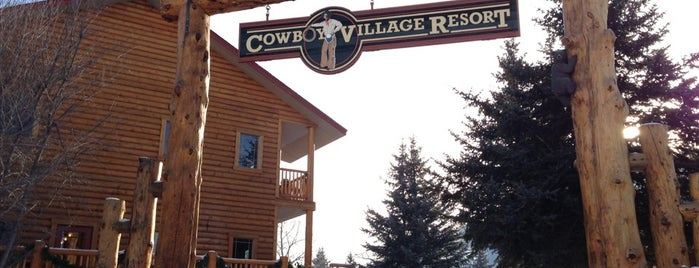 Cowboy Village Resort is one of S 님이 좋아한 장소.