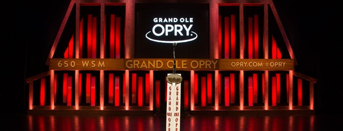 Grand Ole Opry House is one of Nashville For a Weekend.