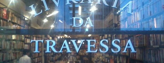 Livraria da Travessa is one of Fui, gostei, voltarei e indico! By Otávio Mélo.