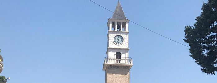 Kulla e Shahatit (Clock Tower of Tirana) is one of Tirana.