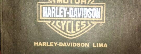 Harley Davidson Lima is one of Locais curtidos por Tamaio.