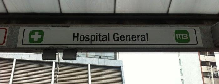 Metrobus Hospital General is one of Lieux qui ont plu à Julio.