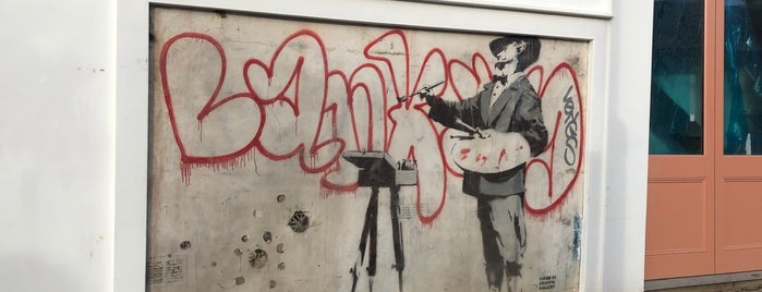 Banksy @ Portobello is one of My London tips!.