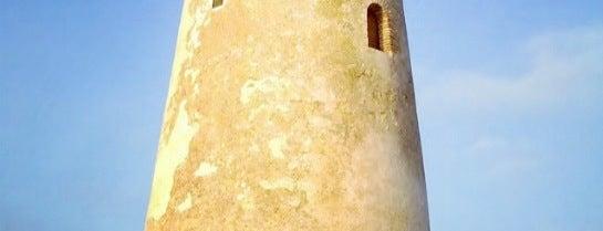 Torre de las Palomas is one of Torres Almenaras en el Litoral de Andalucía.