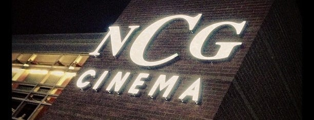 NCG Cinemas is one of Tempat yang Disukai Jim.