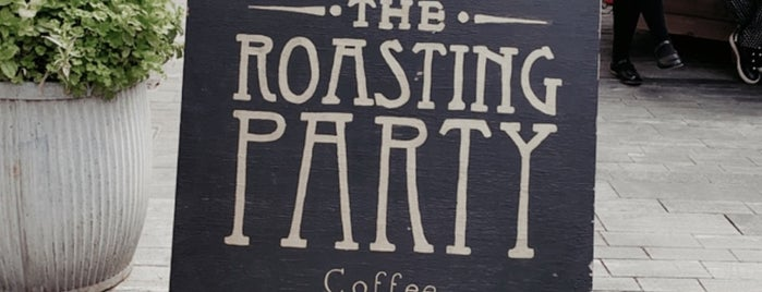 The Roasting Party Coffee is one of London v2 🇬🇧.